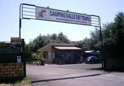 Campeggio Valle Dei Templi Internazionale